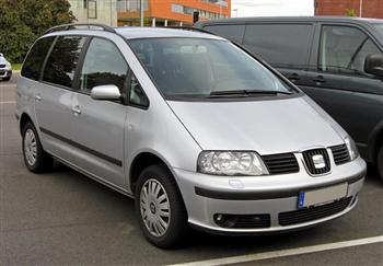 Rent a car Seat Alhambra 7+1 Croatia