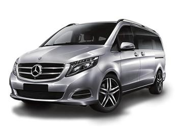 Rent a car Mercedes V-class 8 PAX Automatic A/C Kroatien