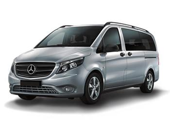 Rent a car Mercedes Vito 9 PAX Automatic A/C Hrvatska